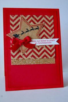 Super diy paper stars stampin up ideas Diy Christmas Presents, Stampin Up Christmas, Christmas Cards To Make, Cozy Christmas, Christmas 2016, Diy Paper, Paper Crafts, Card Crafts, Stampin Up Many Merry Stars