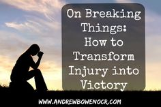 Transform Injury into Victory