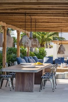 Discover garden room design ideas on HOUSE by House & Garden, including this seaside dining room.