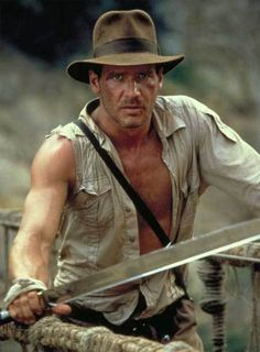 Harrison Ford is another one of my hero's because of his roles in two of my favorite action movie series of Star Wars and Indiana Jones.