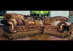 Furniture Masterpieces Corner Sofa sectional from our Vogue collection Fabric Sectional, Sectional Sofa, Sofas, Furniture Sofa Set, Luxury Furniture, Elegant Home Decor, Elegant Homes, Corner Sofa, Room Set