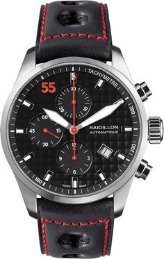 Raidillon Watch Casual Friday Chronograph Limited Edition #add-content #bezel-fixed #bracelet-strap-leather #brand-raidillon #case-material-steel #case-width-42mm #chronograph-yes #date-yes #delivery-timescale-call-us #dial-colour-black #gender-mens #limited-edition-yes #luxury #movement-automatic #new-product-yes #official-stockist-for-raidillon-watches #packaging-raidillon-watch-packaging #style-sports #subcat-casual-friday #supplier-model-no-42-c10-147…