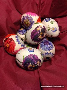 Moja decoupage jaja za Uskrs  — Coolinarika