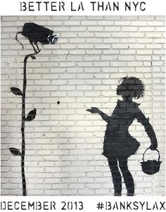 He's back in December! Banksy LAX -- better LA than NYC - xxy