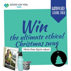 Awesome organisation and great competition: Win a Santa Sack of Ethical Christmas Goodies! Well done Good On You, so nice to see businesses doing good for the world! Christmas Swags, Xmas, Santa Sack, Ethical Shopping, Christmas Goodies, Ethical Fashion, Giveaways, Falling In Love, Beauty Tips