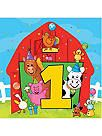 Barnyard 1st Birthday Party Supplies, Decorations & Ideas at Birthday in a Box