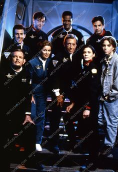 Jonathan Brandis Roy Scheider Stacy Haiduk Stephanie Beacham TV SeaQuest 35m-3703