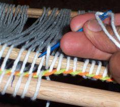 Twining edge on backstrap loom | Weavolution