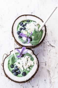 One of my favourite ways to start the day, spirulina makes it into may of my smoothie bowls. This blue-green algae is extremely nutritious and acts as a powerful antioxidant. If you're not ready to try it alone, peppermint covers up the taste perfectly!