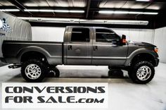 2012 Ford F250 Lariat Diesel Crew Cab 4WD Lifted Truck
