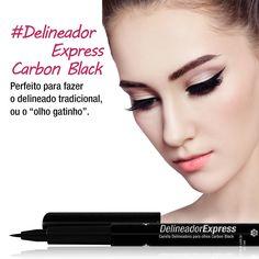 Um ótimo aliado no necessaire, a caneta delineadora pode ser utilizada em qualquer produção e cai muito bem com um lindo batom vermelho, rosa, salmão, nude… http://goo.gl/NfPWTX  #delineador #maquiagem #makeup