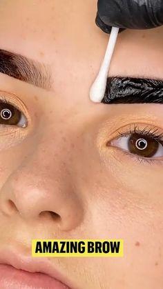 Soft Eye Makeup, Eyebrow Makeup Tips, Hair And Makeup Tips, Makeup Videos, Hair Makeup, Hair Videos, Perfect Eyebrows Tutorial, Eyebrow Tutorial, Perfect Makeup