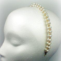 Pearl Crystal Headband » The Anne Boleyn Files