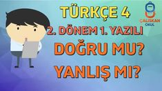 4. Sınıf Türkçe 2. Dönem 1. Yazılı Doğru mu? Yanlış mı? Youtube, Home Decor, Decoration Home, Room Decor, Home Interior Design, Youtubers, Youtube Movies, Home Decoration, Interior Design