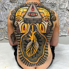 Self Pleasure tattoo by at Fortunate Son Tattoo Co. in Las Vegas, NV Back Tattoos, Tattoos For Guys, Tatoos, Polynesian Tattoos Women, Tattoo For Son, Work Images, Tattoo Spirit, White Ink, Traditional Tattoo