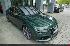 Audi Exclusive Verdant Green