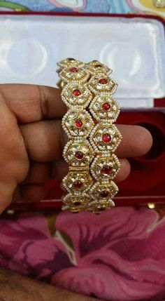 383683630ebcb 71 Best Kundan bangles images in 2019   Bracelets, Jewelry, Ancient ...