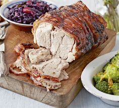 Spice paste adds a modern spin to classic roast pork and a cheap cut gives an impressive finish