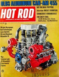 Cover of the Week: July 1969 Looking through the back issues we couldn't help but wonder what this big Oldsmobile sounded like. It's too bad that we didn't have more video production on hand like we do now. Thanks to modern fuel injection, turbos aren't quite the novelty they were over 40 years ago, but there's no doubt that having an engine like this (partially) under the hood of your 4-4-2 would make you the talk of the town. Can you even imagine tuning a Lucas-injected turbo engine?