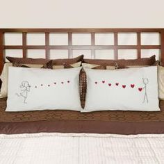 Receive 10% off when you share this product with your friends. Blowing Kisses Pillowcase Gift Set
