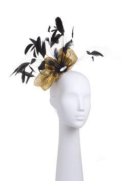 Tocado gold Headdress gold