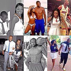 Like what you see⁉ Follow me on Pinterest ✨: @joyceejoseph ~ Gabrielle Union & Dwayne Wade