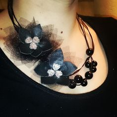 #DIY #handmade #floral #necklace #jewellery #jewellerymaking