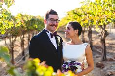 Eberle Winery Wedding in Paso Robles.  Couples portraits in the vineyard.