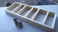 diy spice cabinet, kitchen cabinets, organizing, storage ideas