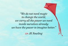JK Rowling on Inner Magic