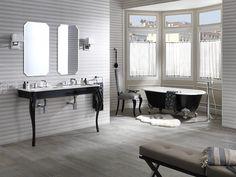 Imagine ♫ El diseño de #baños que materializa lo que eres capaz de imaginar. Clásico, sutil