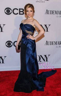 Anna Kendrick gets glammed up for the Tony Awards!