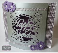 Crafter's Companion Create a card die Happy Birthday