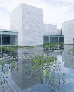 First look into the Glenstone Museum's new wing | In this age of intense stimulation overload, it's encouraging to see a museum heading in the opposite direction. Thomas Phifer and Partners' addition to the Glenstone Museum of Art #architecture
