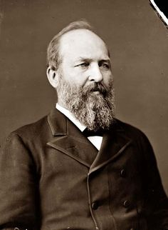 President James Garfield served as the 20th #president