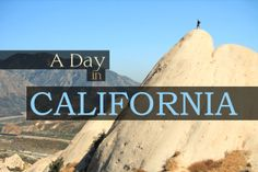 A Day in California. A Day in California is comprised of 10,000+ individual photographs, taken on beginner Canon equipment.  It is the resul...