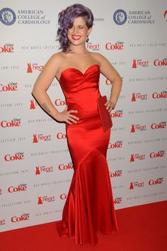 Kelly osbourne-the heart truth 2013 fashion show…love her dress!