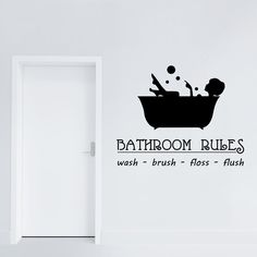 Adesivi da parete Bathroom Rules Wall Sticker Adesivo da Muro https://www.adesiviamo.it/prodotto/1222/Adesivi-da-parete/Adesivi-da-parete/Bathroom-Rules-Wall-Sticker-Adesivo-da-Muro.html