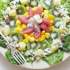 Lighten up your meal with this low-calorie fruit packed salad. It will detoxify and cleanse your system to boost weight loss!