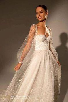 Wona Muse 2021 Spring Bridal Collection – The FashionBrides Boho Wedding Dress, Dream Wedding Dresses, Bridal Dresses, Wedding Gowns, Red Slip Dress, The Dress, Dress Lace, Gowns With Sleeves, Bridal Collection