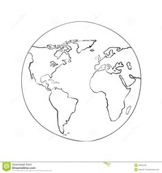 World map globe sketch vector patterns and repeats pinterest world map globe sketch vector patterns and repeats pinterest map globe tattoo and tatoo gumiabroncs Image collections