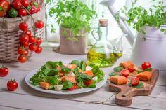 Четыре салата менее 100 калорий - KitchenMag.ru