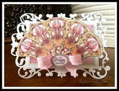 who is selling justrite floral fan elements clear stamp - Google Search