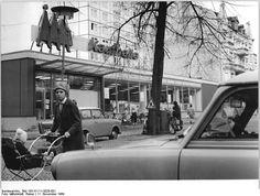 Berlin Bolscheststrasse Kaufhalle, November 1969