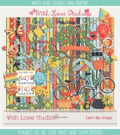 FREE Let's Go Play kit by With Love Studio