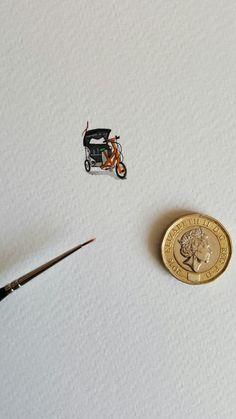 Miniature Cycle Rickshaw