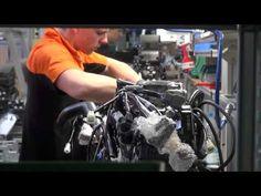 KTM Factory Tour - Production Line - Engine Plant - Mattighofen, Austria - YouTube