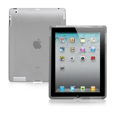 """nice BoxWave iPad 2 DuoSuit - Slim-Fit Ultra Durable TPU Case with Stylish """"S"""" Design on Back - iPad 2 Cases and Covers **SPECIAL OFFER** Buy 1 Get 2nd Unit 50% Off for Limited Time Only! -See Details! (Smoke Grey)"""