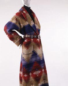 Ensemble Ralph Lauren (American) ca. 1987 wool, cashmere