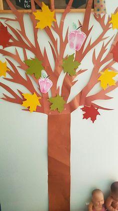 Fall apple tree Apple Tree, Classroom, Fall, Artwork, Jewelry, Class Room, Autumn, Work Of Art, Jewlery